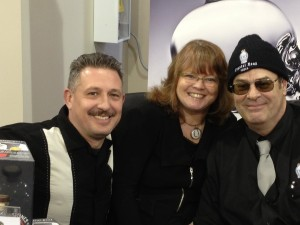 Ali, Dace and Dan Akroyd