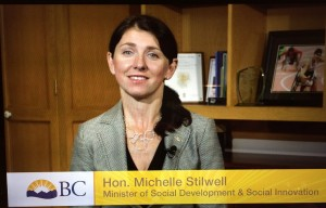 Minister Michelle Stilwell - Minister of Social Development and Social Innovation
