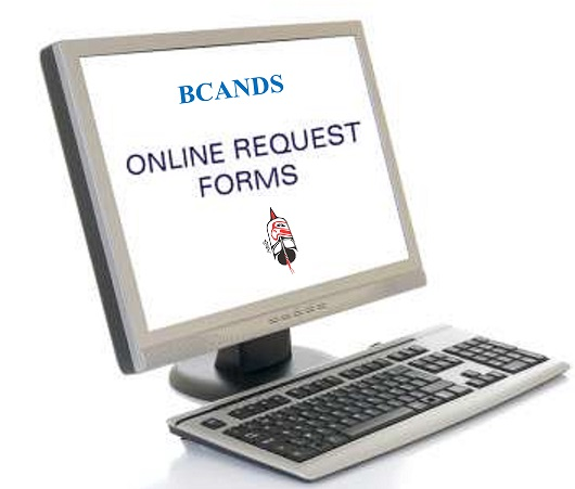 Bcands On-Line Client Service Request Form |